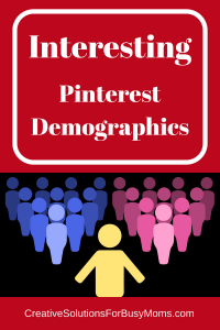 Interesting Pinterest Demographics